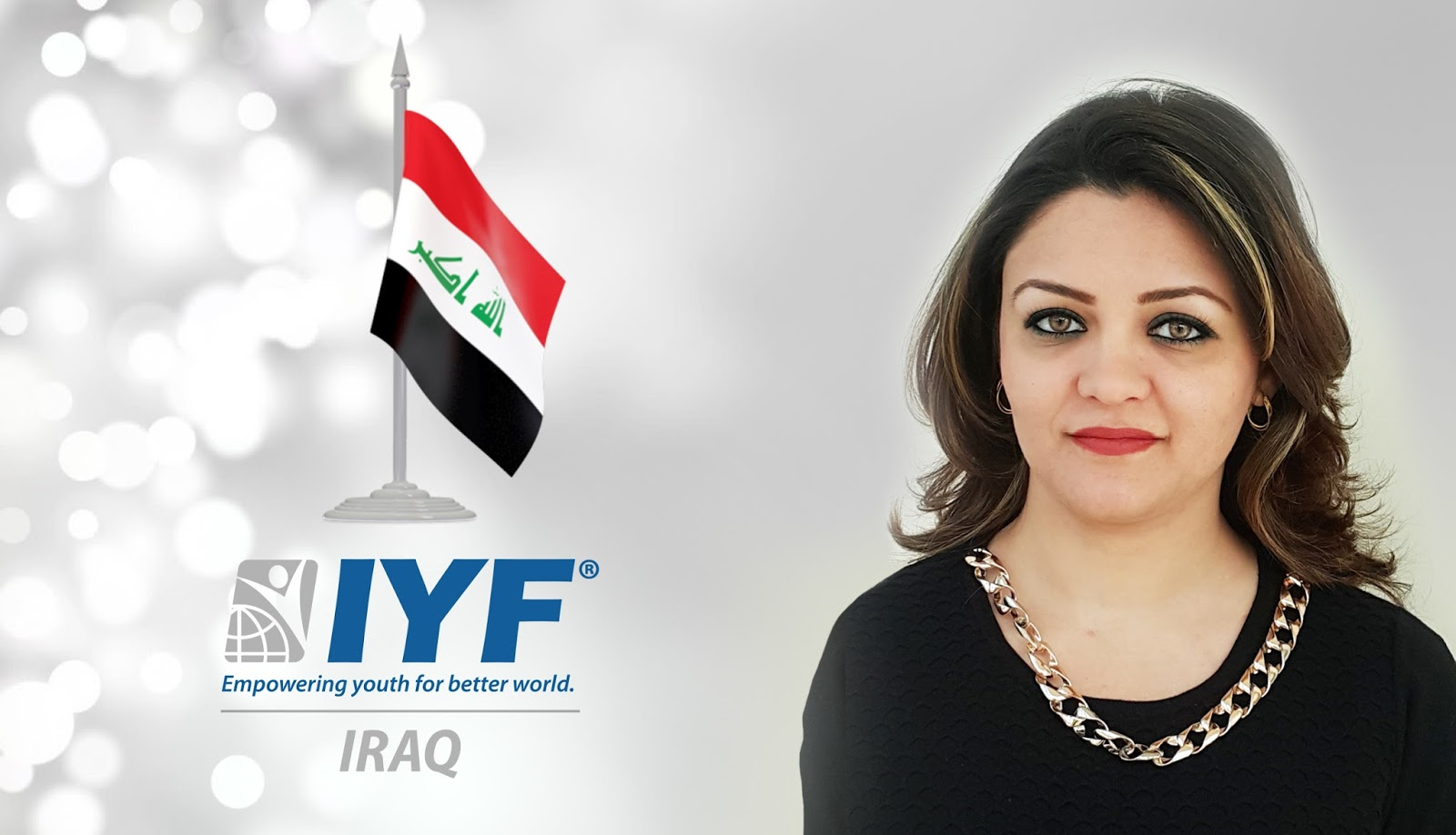 Elaf Al-Qraishi, IYF Representative in Iraq