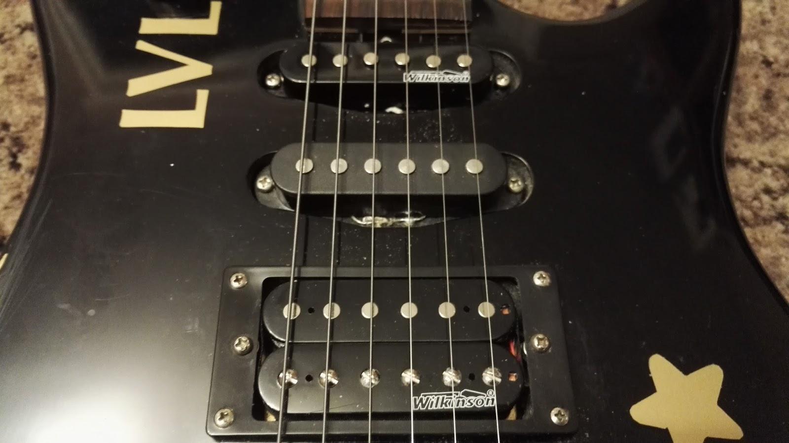 Ausgezeichnet Wilkinson Humbucker Gitarre Schaltplan Zeitgenössisch ...