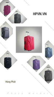 Bán buôn vali kéo, vali xuất khẩu lao động loại lớn