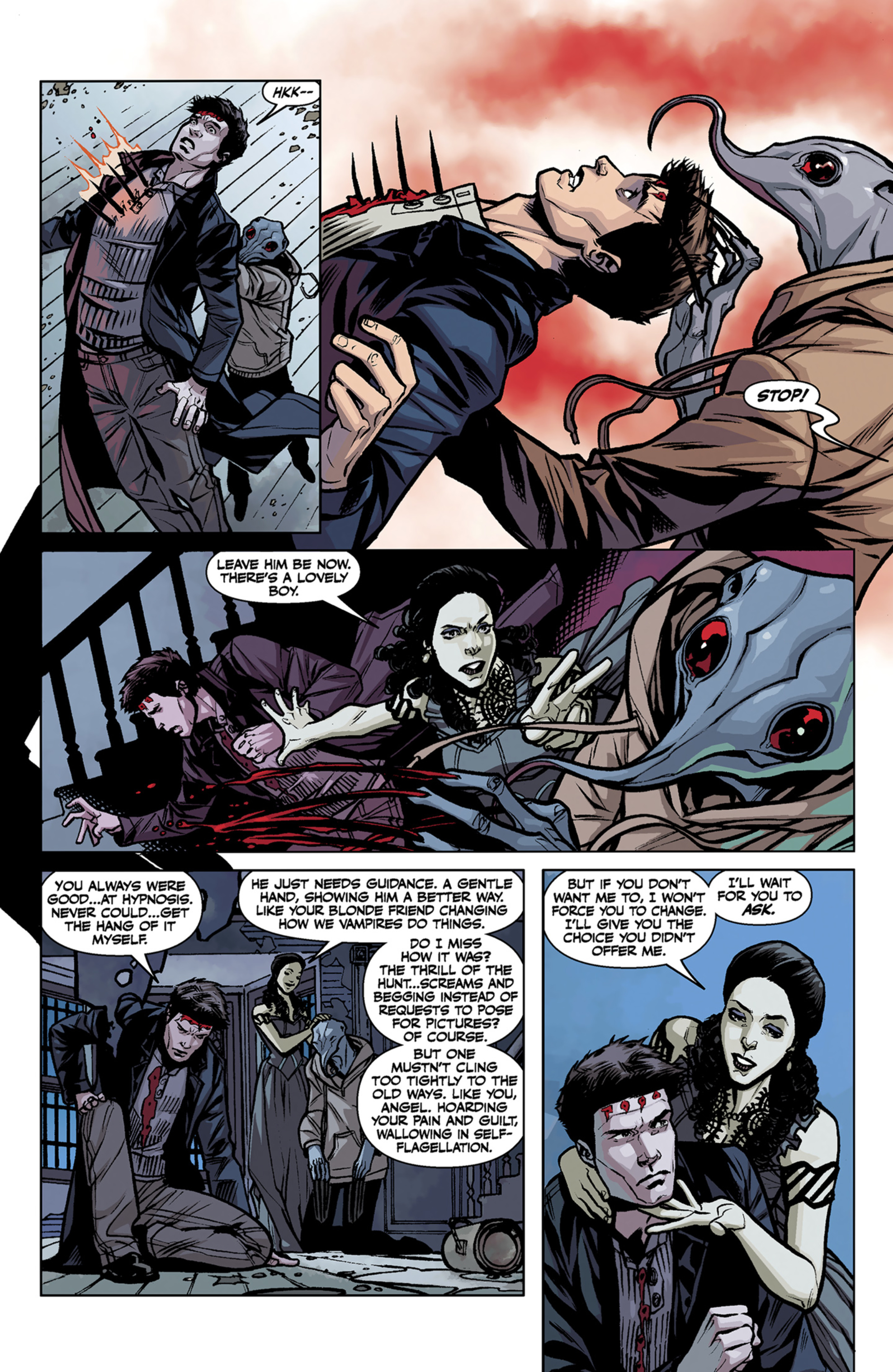 Read online Angel and Faith comic -  Issue #7 - 18