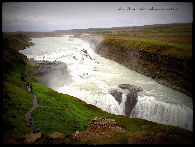 Iceland waterfall, Gulfoss Iceland, Golden Circle tour