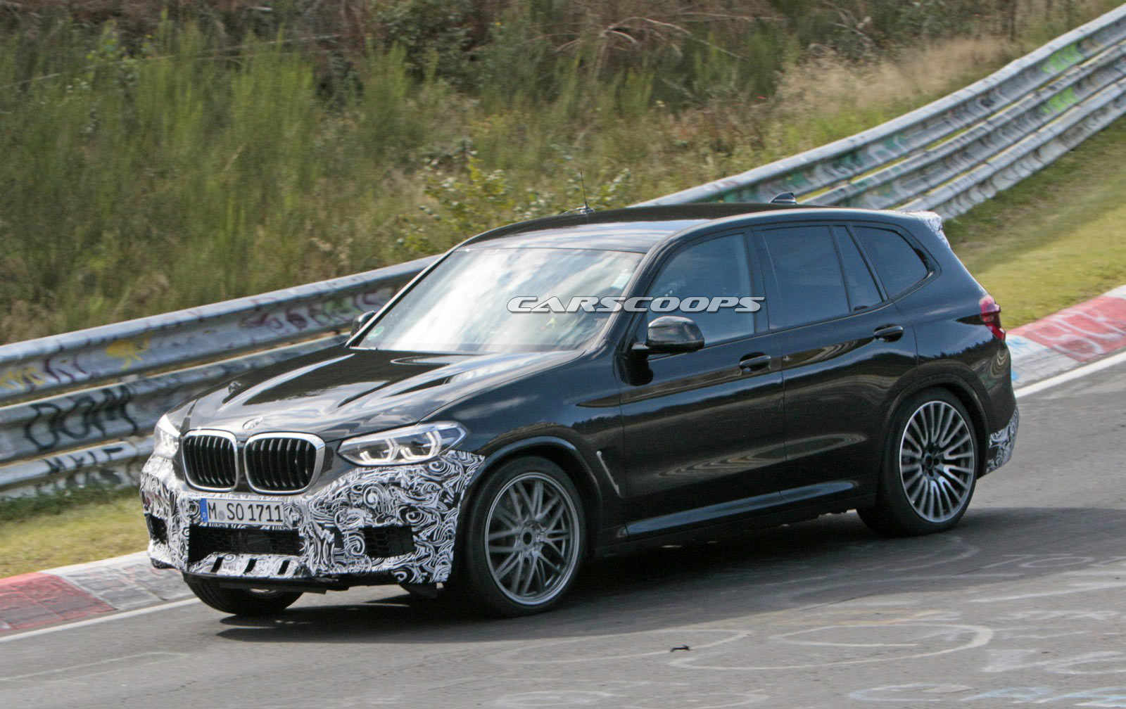 bmw x3 m drops some camouflage could pack 460 hp. Black Bedroom Furniture Sets. Home Design Ideas