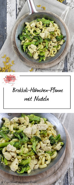 Brokkoli-Hähnchen-Pfanne mit Nudeln | Kochen | Rezept | Pasta