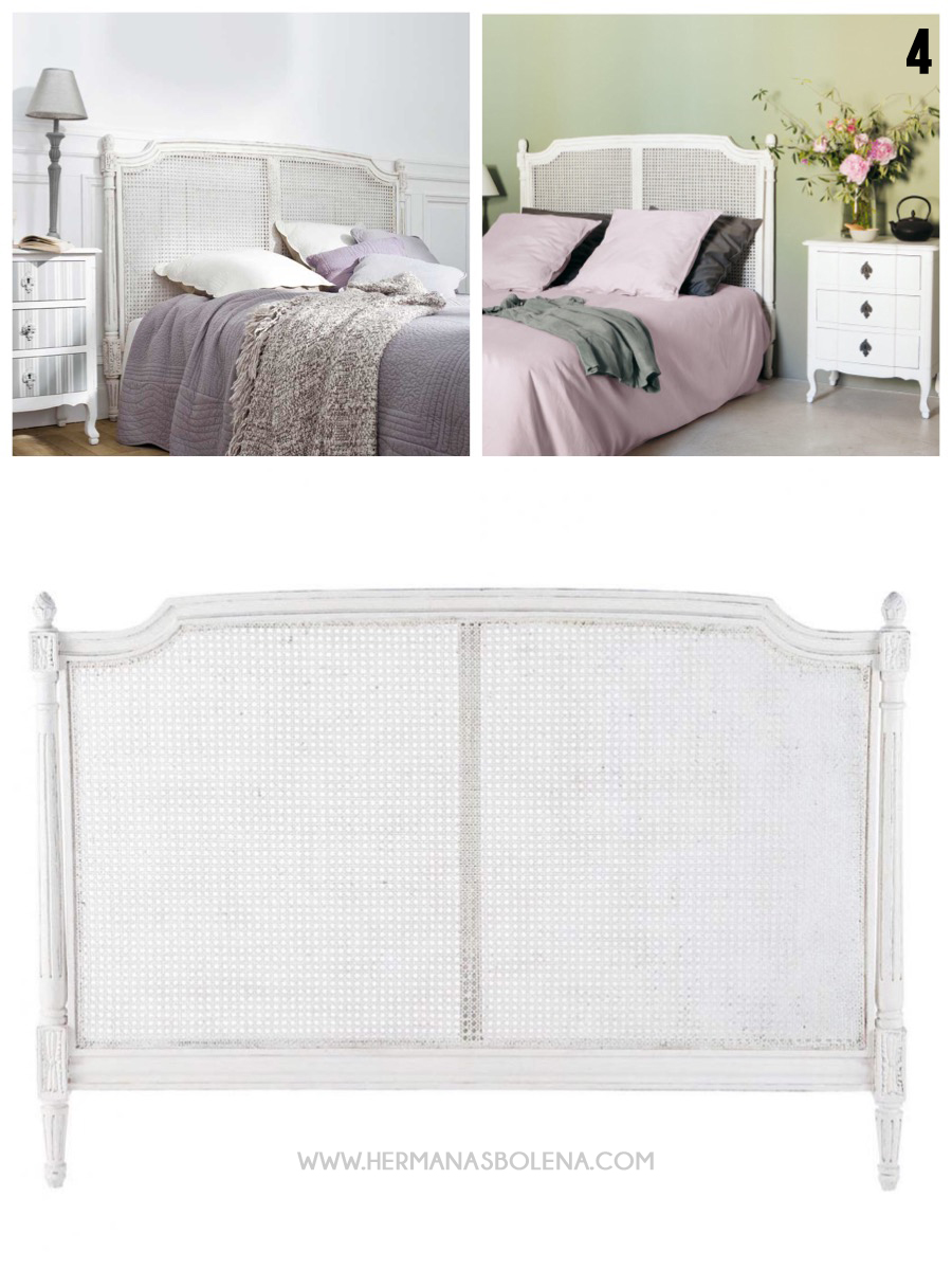 decoración dormitorios cabeceros