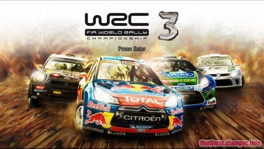 Download game WRC World Rally Championship 3 Full Crack patch Game đua xe hay