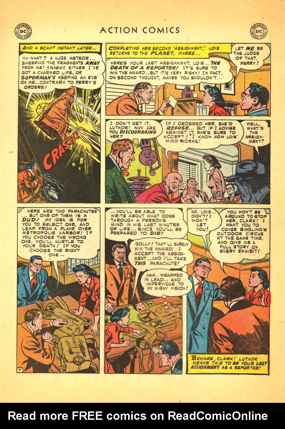 Action Comics (1938) 166 Page 7