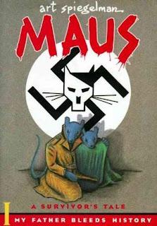 Maus I,  Maus II, Art Spiegelman, InToriLex