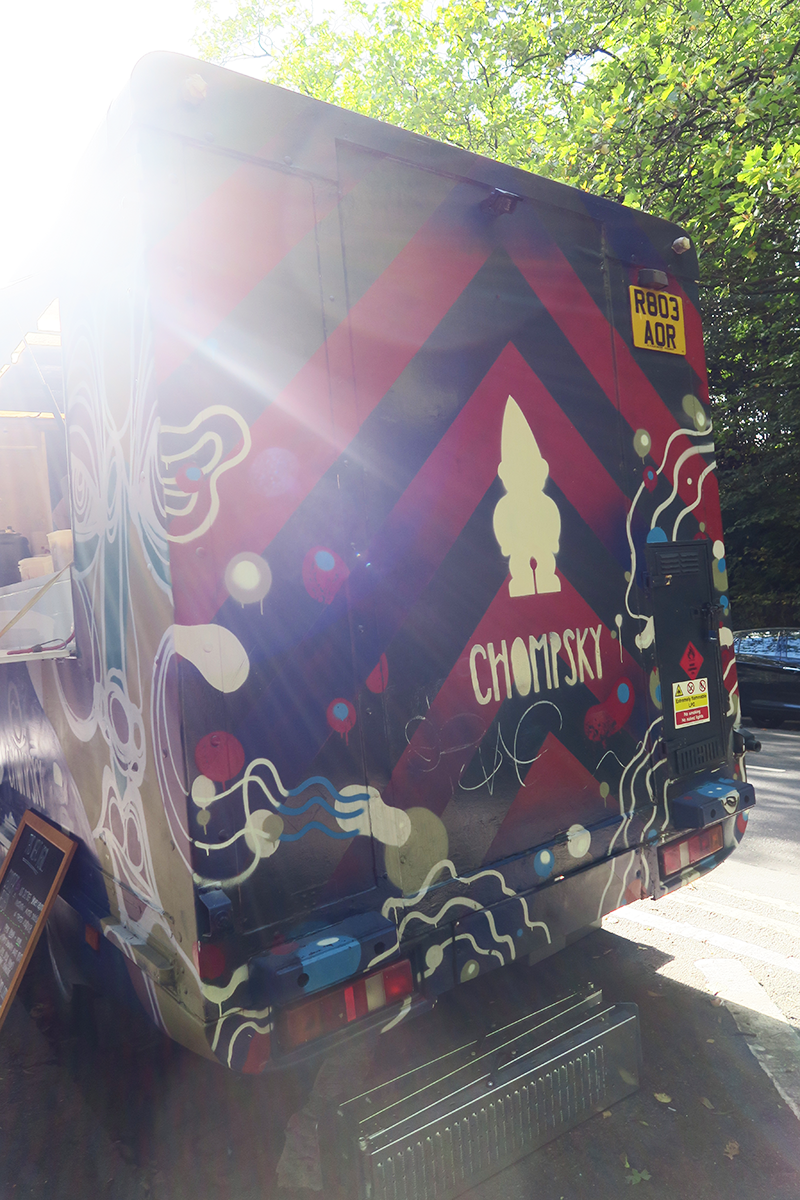 Chompsky Street Food Truck Glasgow | Colours and Carousels - Scottish Lifestyle, Beauty and Fashion blog