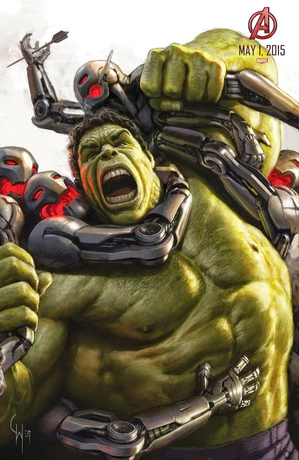 Mark Ruffalo as Hulk in Avengers: Age of Ultron