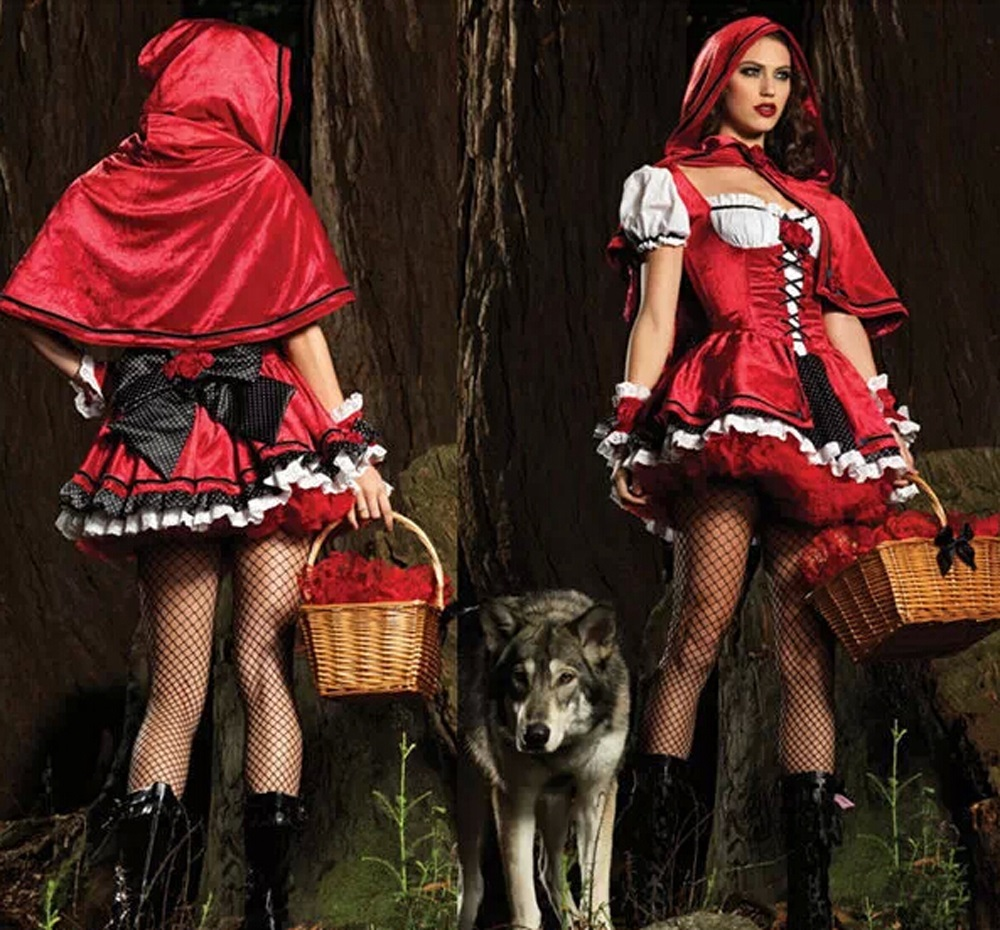 Tech-Media-Tainment Sexy Little Red Riding Hood, A Halloween Staple-4240