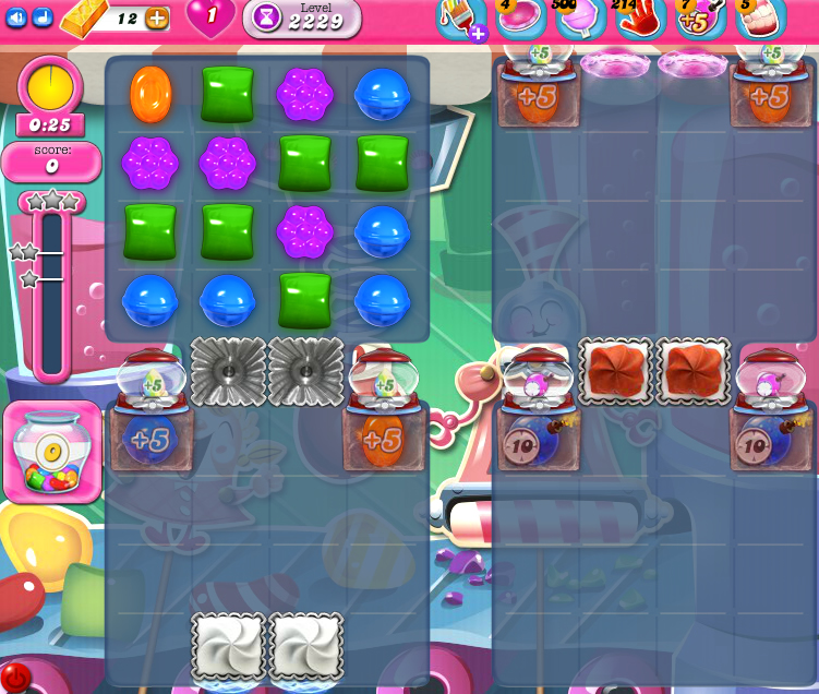 Candy Crush Saga level 2229