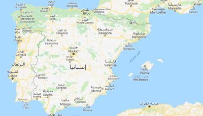 خريطة اسبانيا Spain.Map