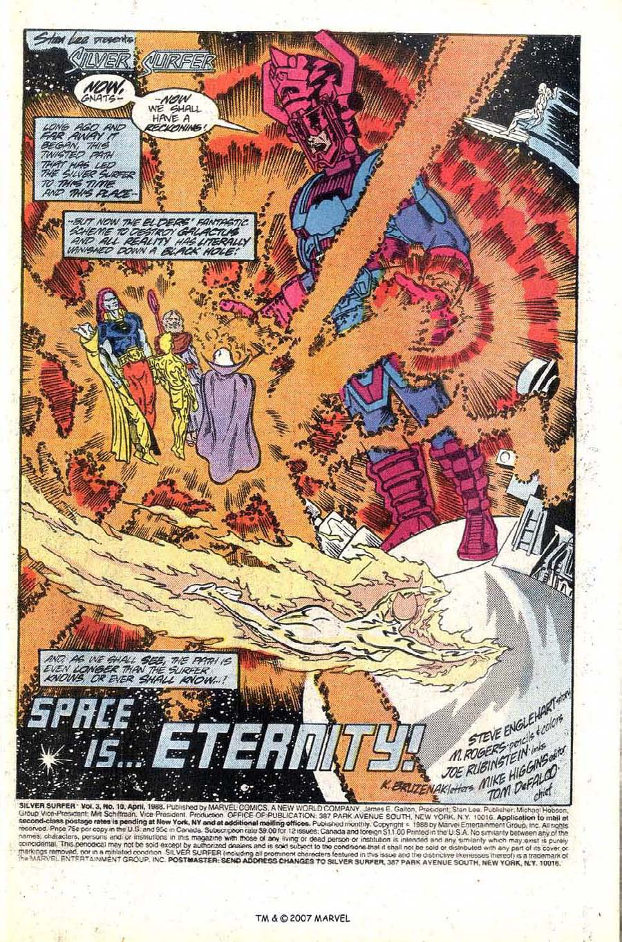 Read online Silver Surfer (1987) comic -  Issue #10 - 3