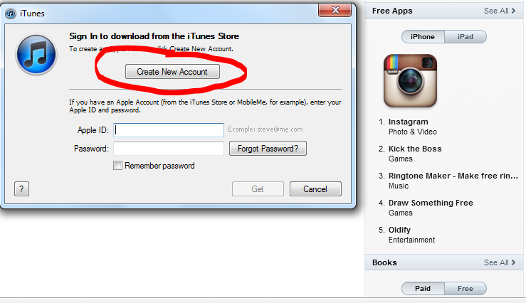 """Opsi """"NONE"""" Tidak Muncul di Itunes, Apple iD - FREE   ALL"""