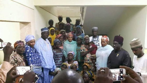 Visit to chibok girls