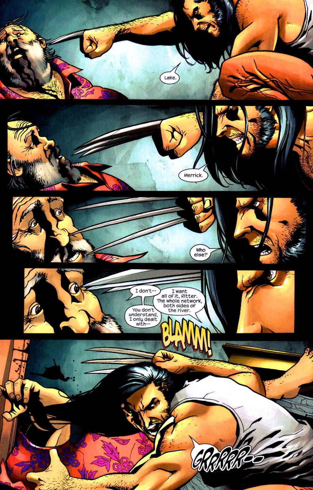 Read online Wolverine (2003) comic -  Issue #8 - 10