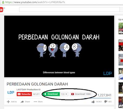 Cara download video atau lagu di youtube menjadi MP3, MP4, 3GP dsb