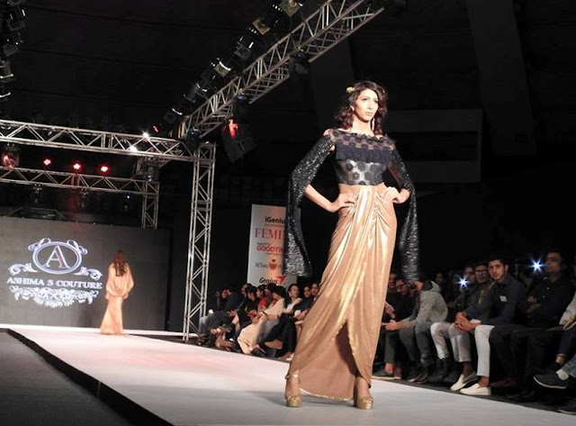Model walking for Ashima Sharma