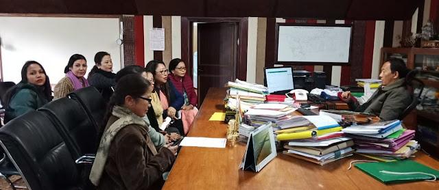 ICDS tabled 7 demands to GTA Chief Binay Tamang