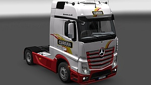Curran skin for Mercedes Actros MPIV