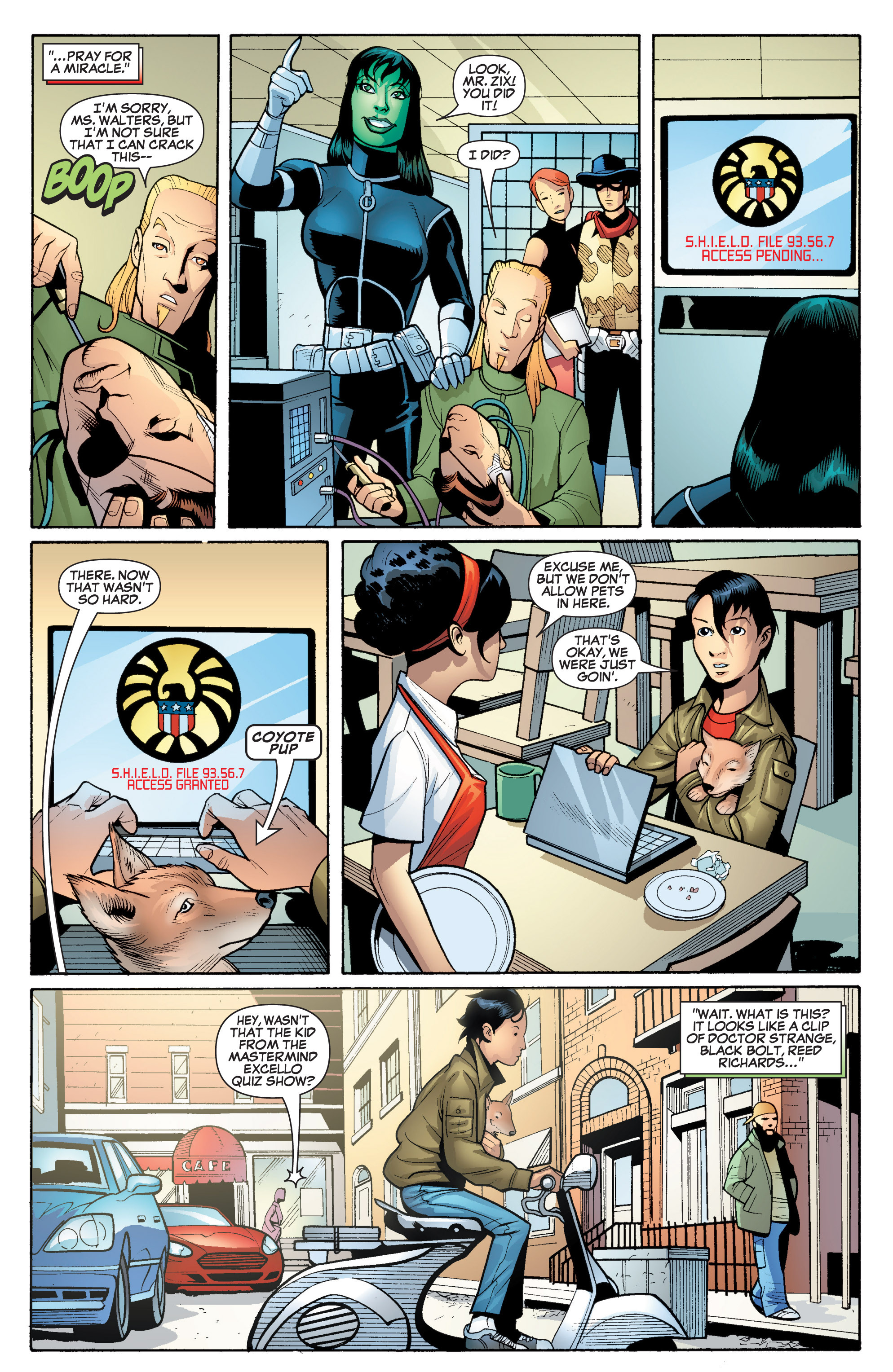 Read online She-Hulk (2005) comic -  Issue #18 - 11