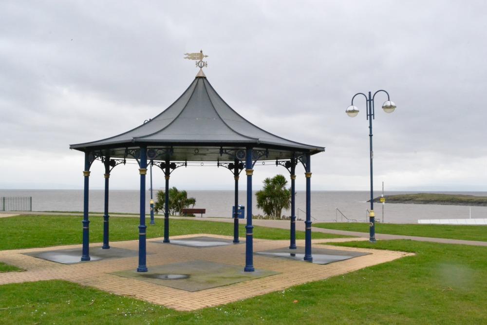 vintage bandstand barry island wales