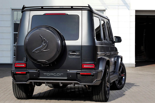 Mercedes G63 AMG TopCar Inferno - Exclusive footage - ...