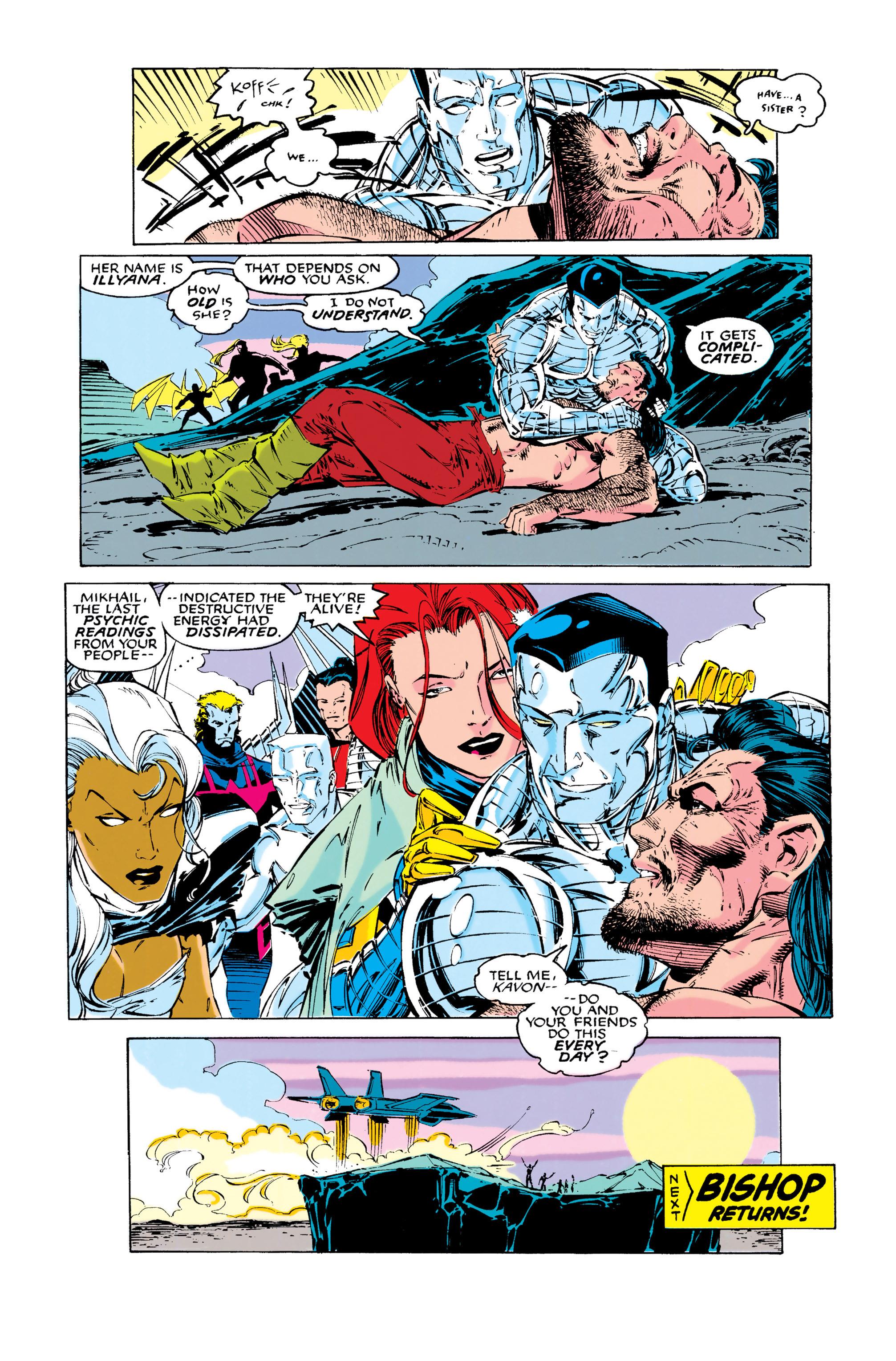 Read online Uncanny X-Men (1963) comic -  Issue #286 - 21