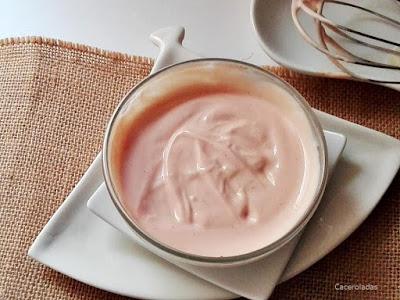 salsa rosa casera