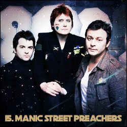 The 24 Greatest Bands In The World Right Now: 15. Manic Street Preachers