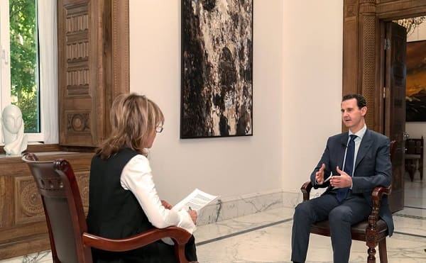 """النص الكامل لمقابلة """"الرئيس الأسد""""مع صحيفة """"ميل أون صنداي"""" البريطانية ."""
