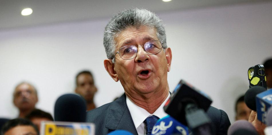 Henry Ramos Allup es secretario general de Acción Democrática, diputado y vicepresidente de la Internacional Socialista