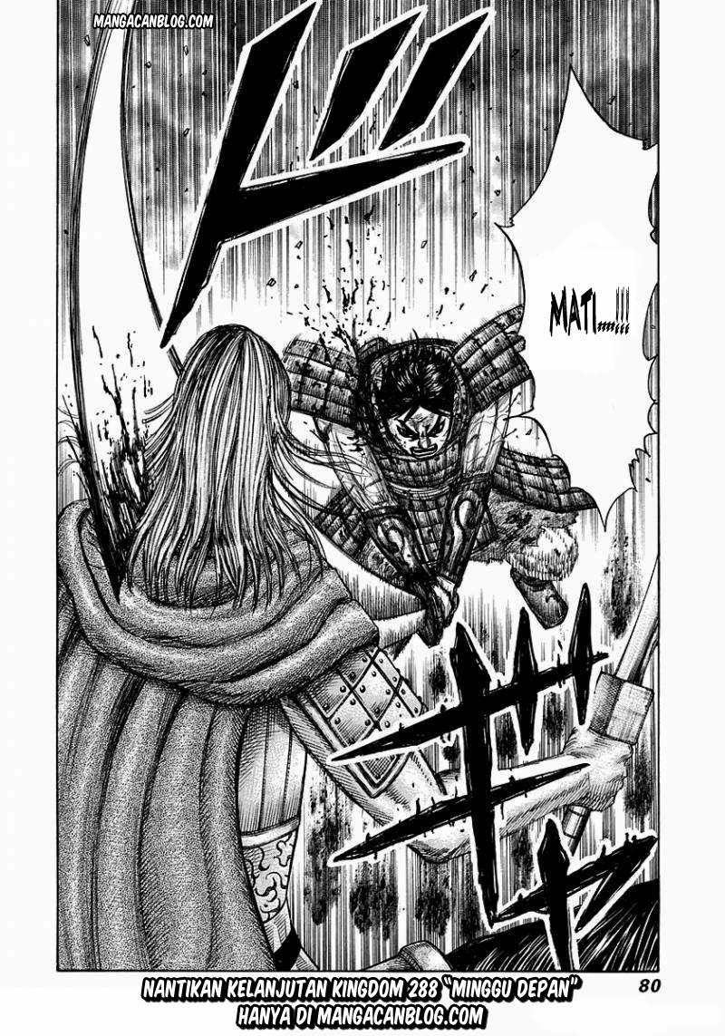 Baca Komik Manga Kingdom Chapter 287 Komik Station