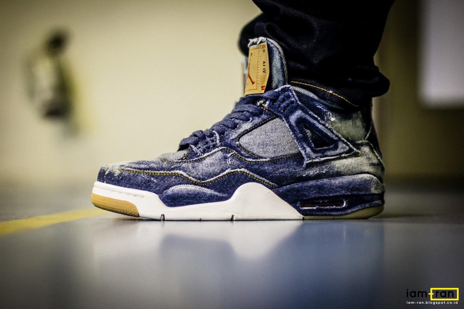 a69b5b2e988b IAM-RAN  ON FEET   Isser - Nike Air Jordan 4 X Levis