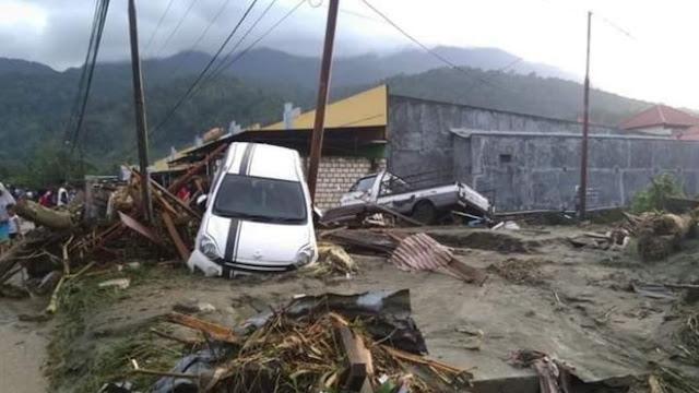 BNPB: 50 Korban Tewas Akibat Banjir Bandang di Sentani Papua