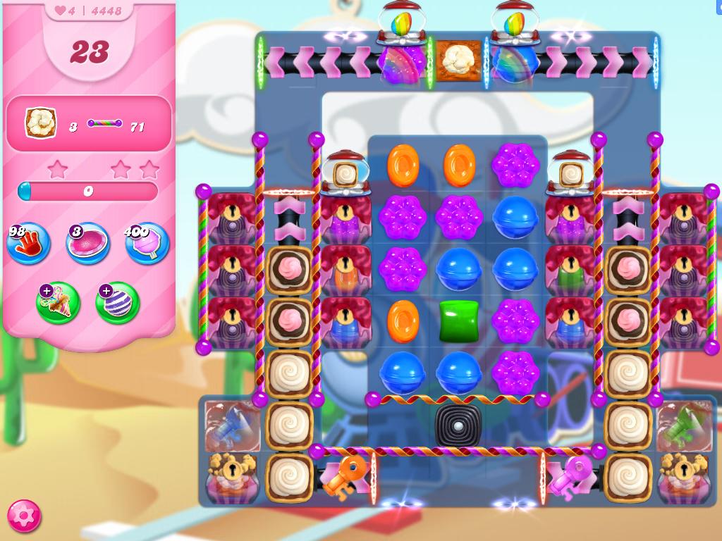 Candy Crush Saga level 4448