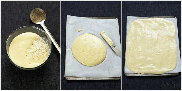 Bûche roulée au citron (recette et technique en images)