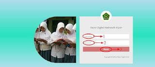Cara Login ARD Madrasah sebagai Guru