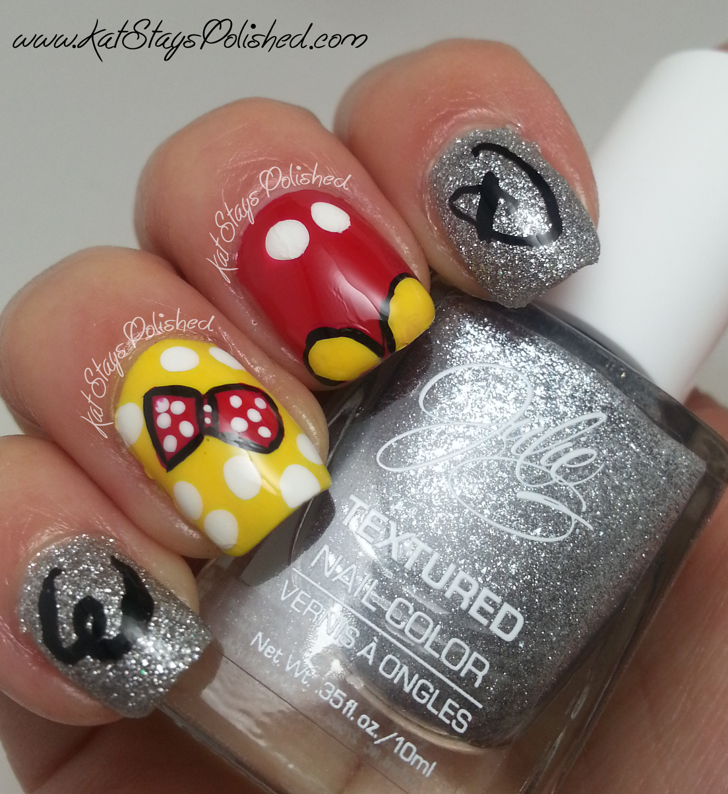 Disney World Inspired Nail Art With Kat From Kat Stays Polished Beautyjudy