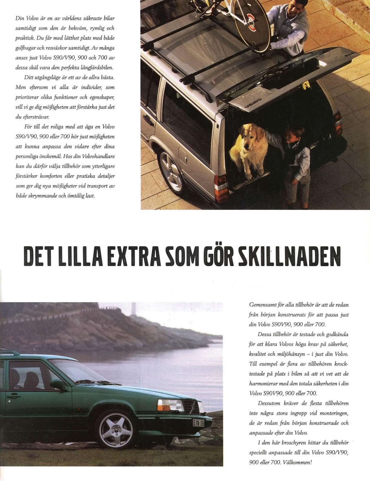 volvo my page brochure of world se accessories
