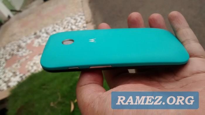 Motorola Shells Moto E Turquoise Review