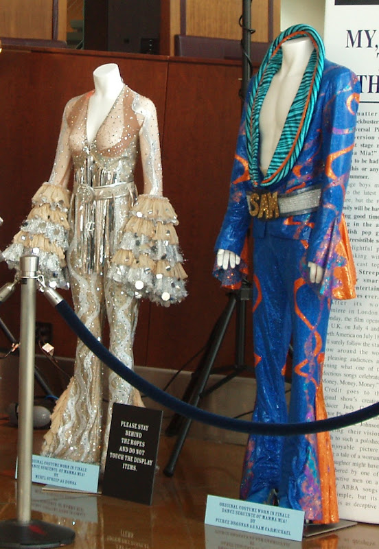 Mamma Mia Movie Meryl Streep Pierce Brosnan finale costumes