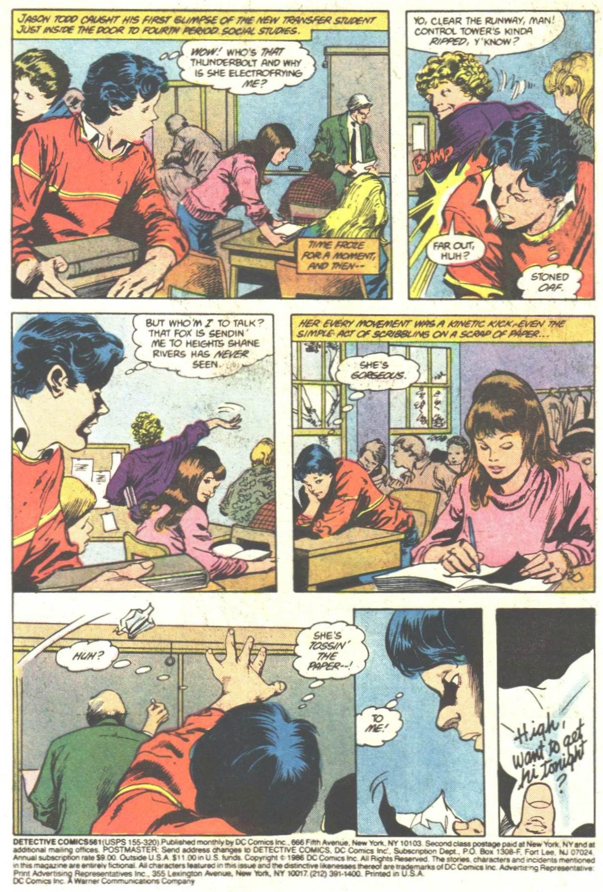 Detective Comics (1937) 561 Page 2