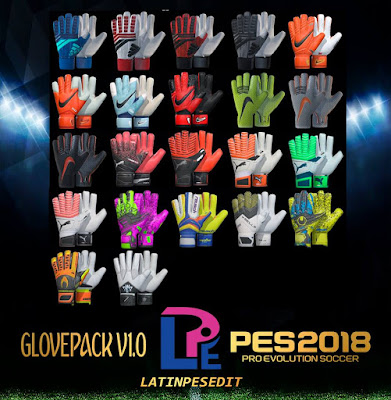 PES 2018 AIO Glovepack by LPE09