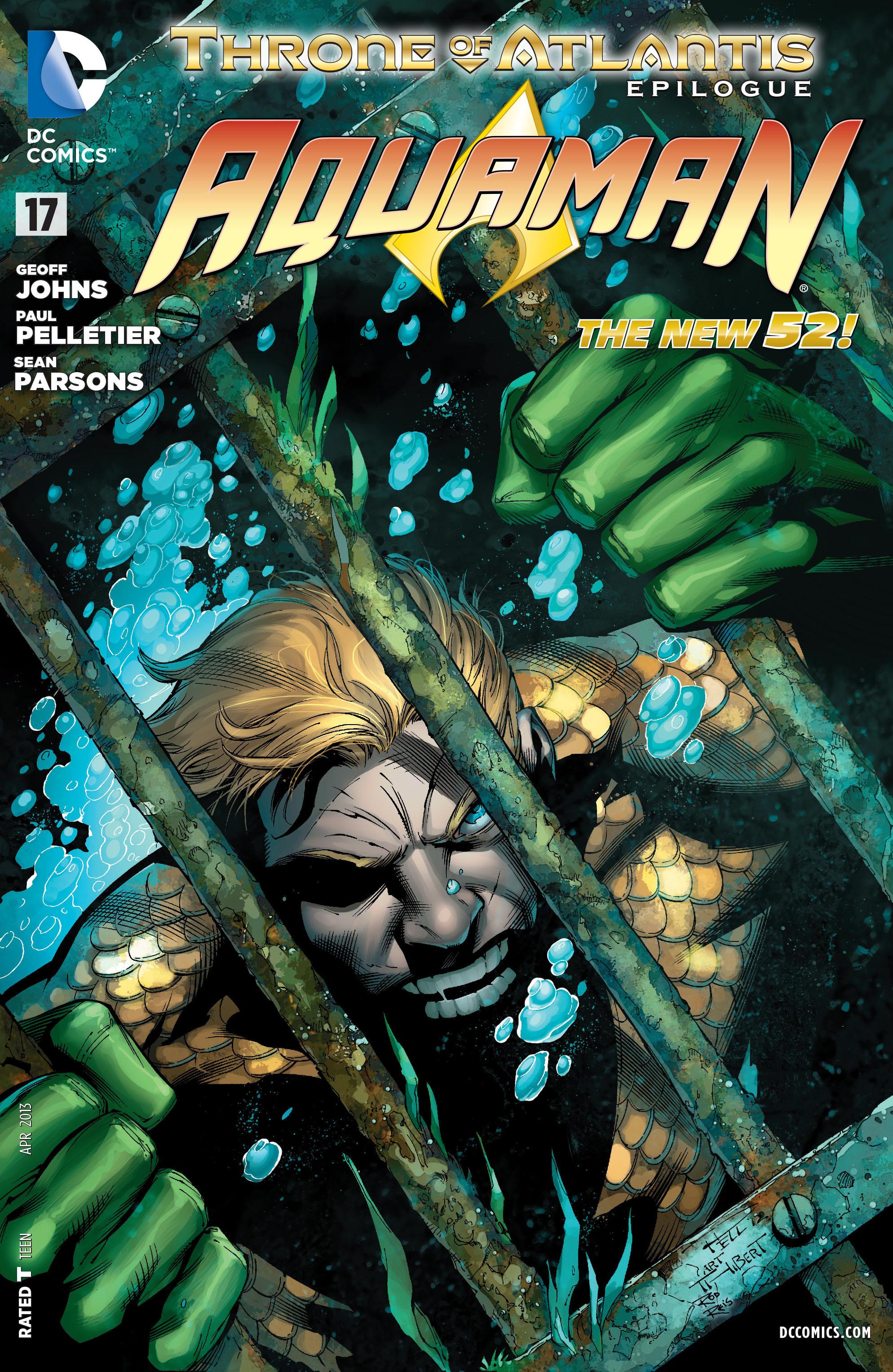 Read online Aquaman (2011) comic -  Issue #17 - 1