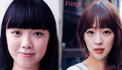 fringe, fringe hairstyle