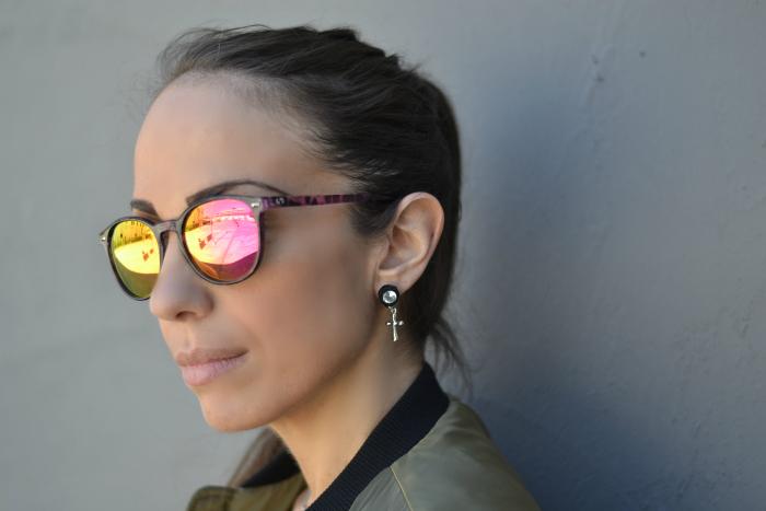 occhiali sole specchio