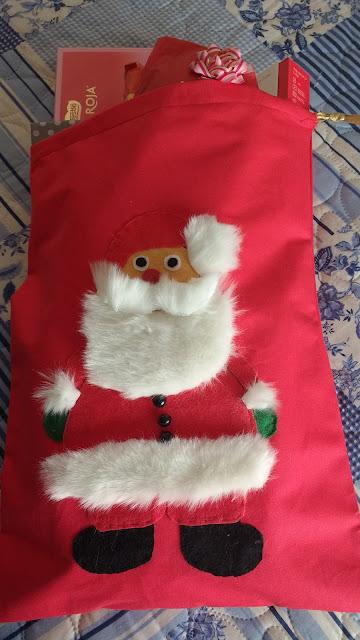 Saco de Papá Noel / Cosas de Cari.blogspot.es