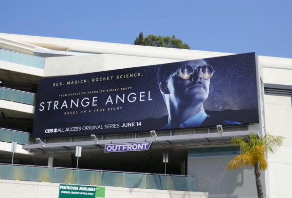 Strange Angel server premiere billboard