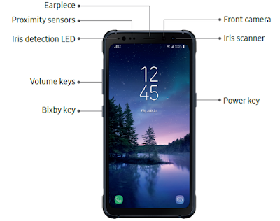 Galaxy S8 Active SIM and Memory Location